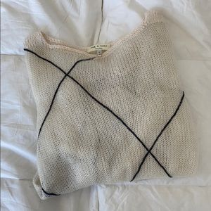Rag & bone mohair lightweight sweater size m